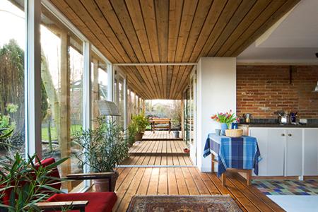 Reidar architectuur veranda westeremden - Uitbreiding veranda ...